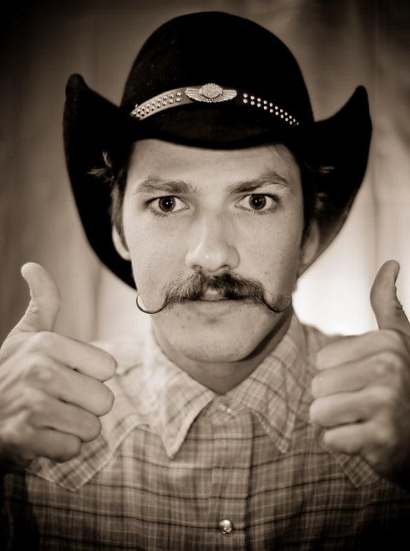 cowboy-mustache-3 15 Popular Cowboy Beard & Mustache Styles