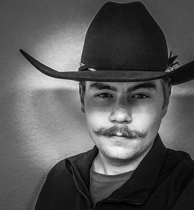 cowboy-mustache-4 15 Popular Cowboy Beard & Mustache Styles