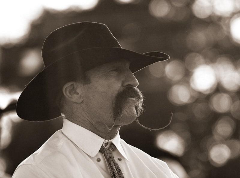 cowboy-mustache-6 15 Popular Cowboy Beard & Mustache Styles