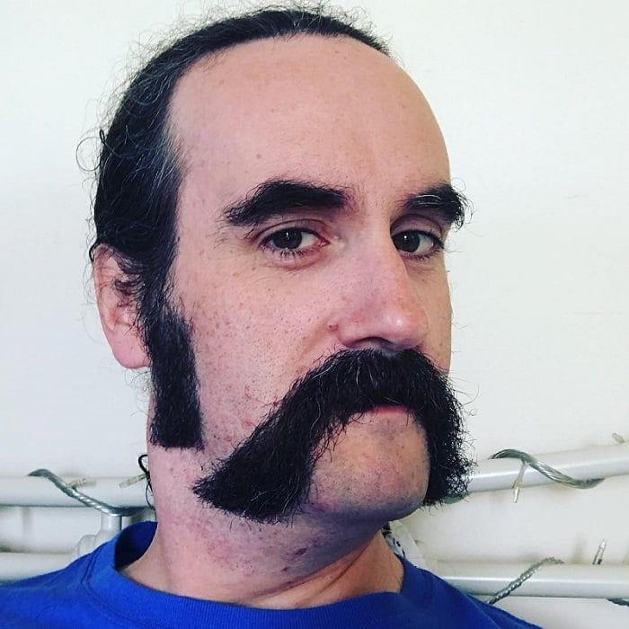 cowboy-mustache-7 15 Popular Cowboy Beard & Mustache Styles