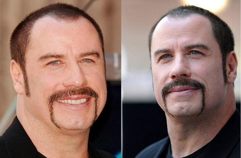 john-travolta-mustache Famous Mustaches: 23 Looks You Need to Copy