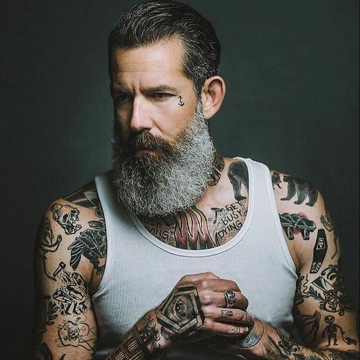 salt-and-pepper-beard-styles-15 21 Classic Salt and Pepper Beard Styles (2020)