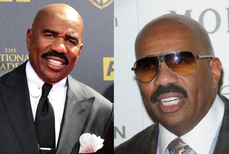steve-harvey-mustache Famous Mustaches: 23 Looks You Need to Copy