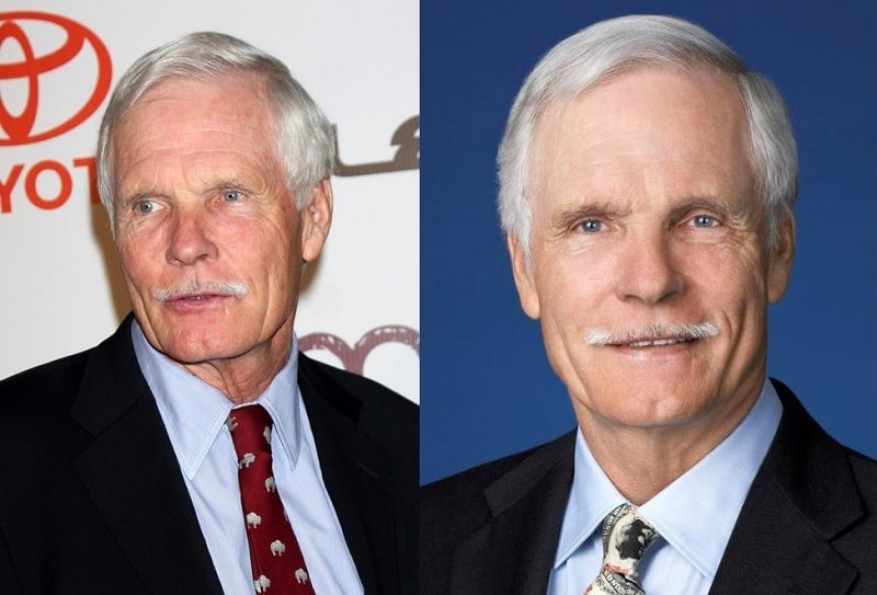 ted-turner-mustache Famous Mustaches: 23 Looks You Need to Copy