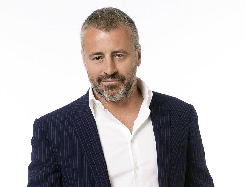 actor with salt and pepper beard- Matt Leblanc