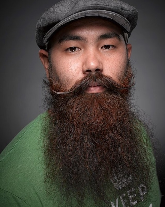 chinese-beard-with-mustache How to Style Chinese Beard That Gets Attention