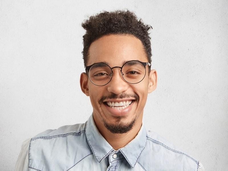 teenage mustache style