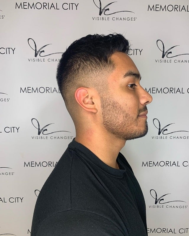 bald-fade-with-stubble-beard 10 Sexiest Bald Fade with Beard Styles