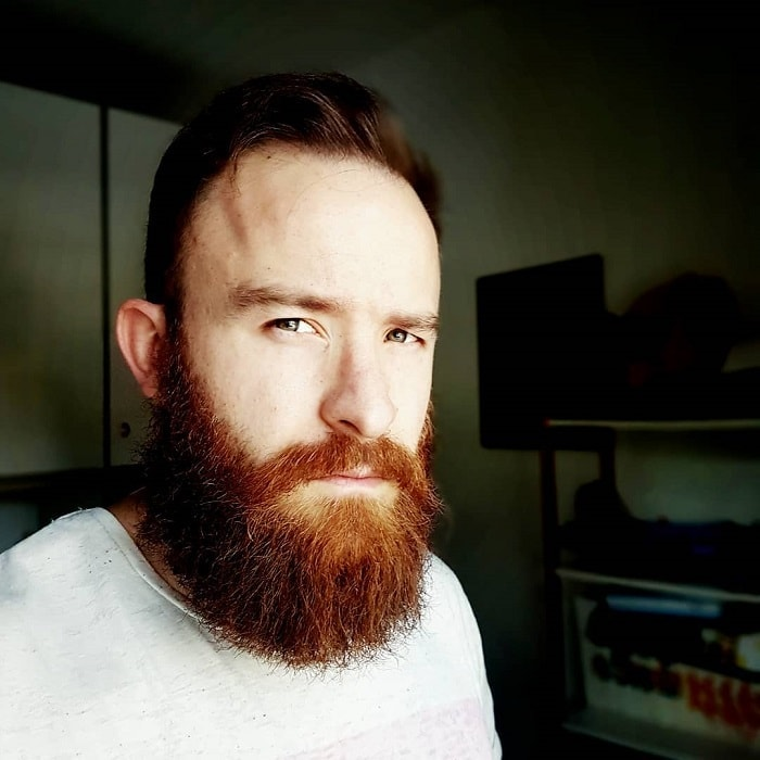 medium beard for round face