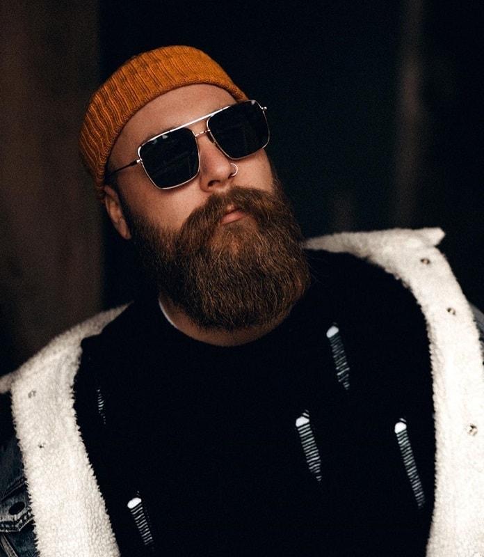 medium length full beard
