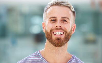 undercut hairstyle with beard