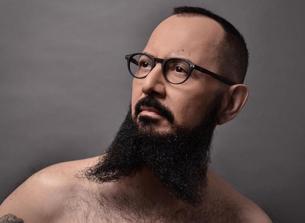 Beard Splits in the Middle