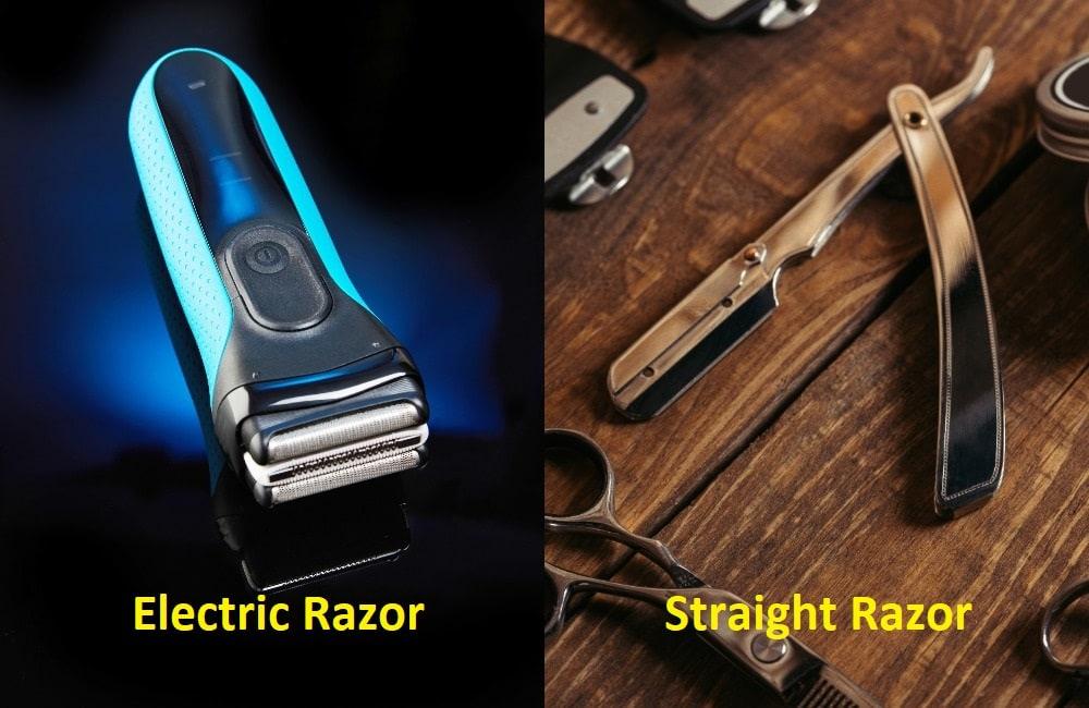 Electric Razors vs. Straight Razor
