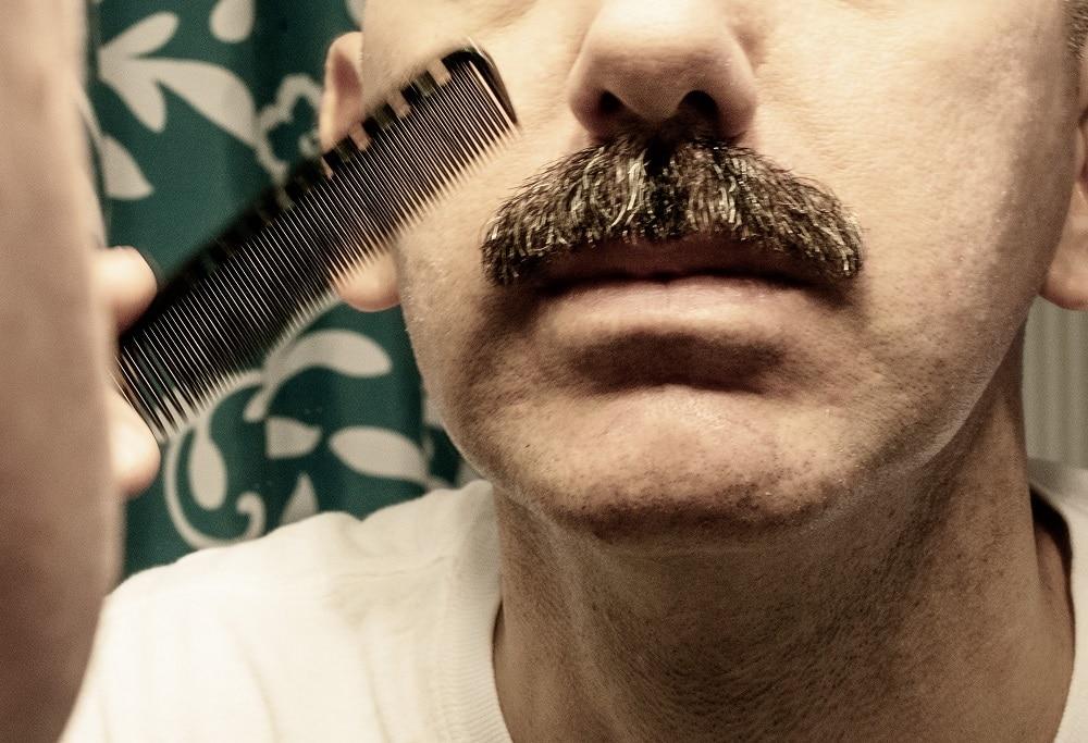 Grooming Mustache to Grow