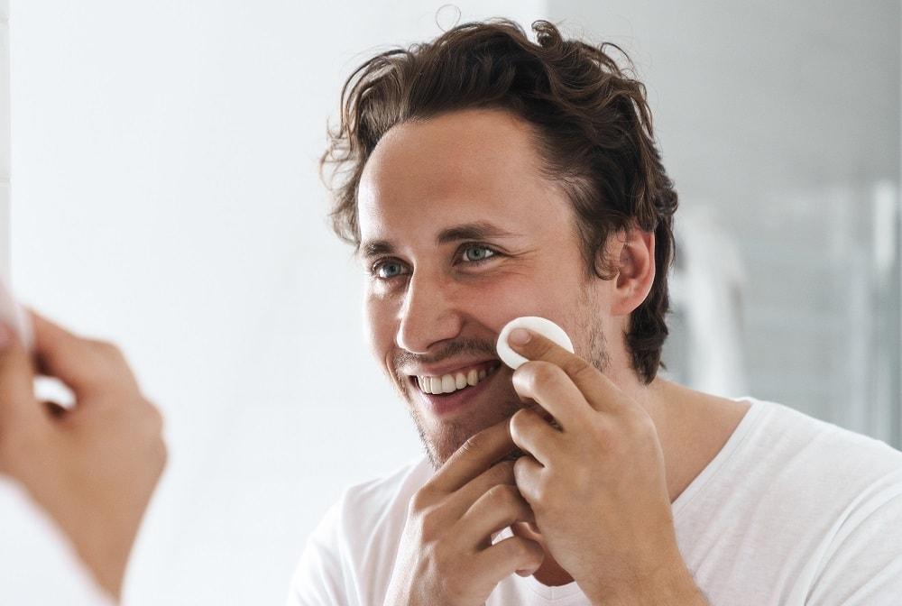 Use Beard Softening Pad for Stubble
