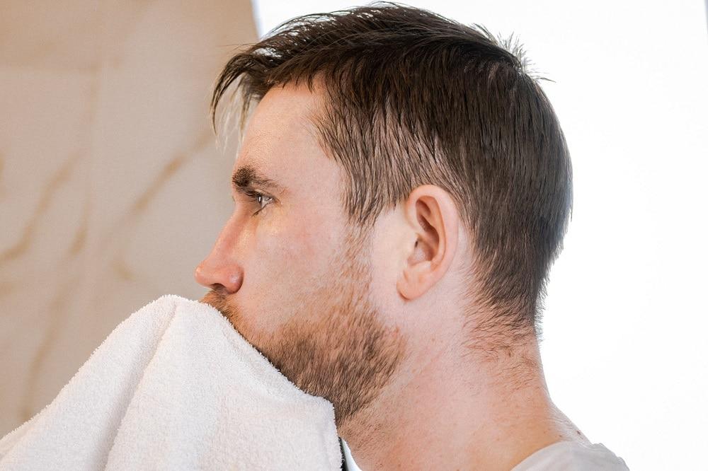 Wash Your Stubble Beard Properly