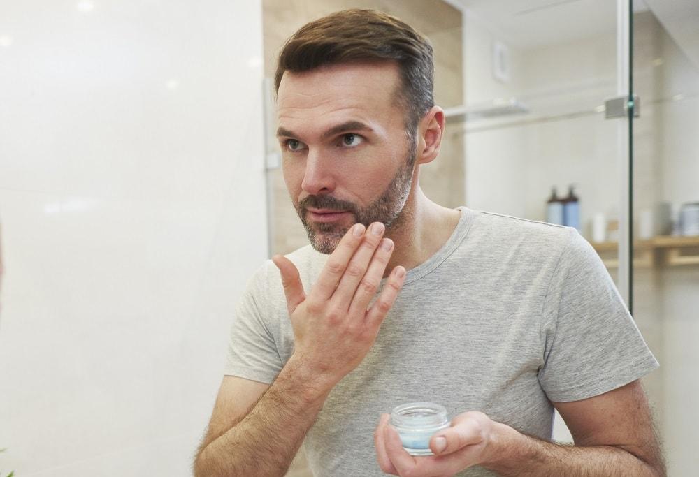Wash and Moisturize Patchy Beard