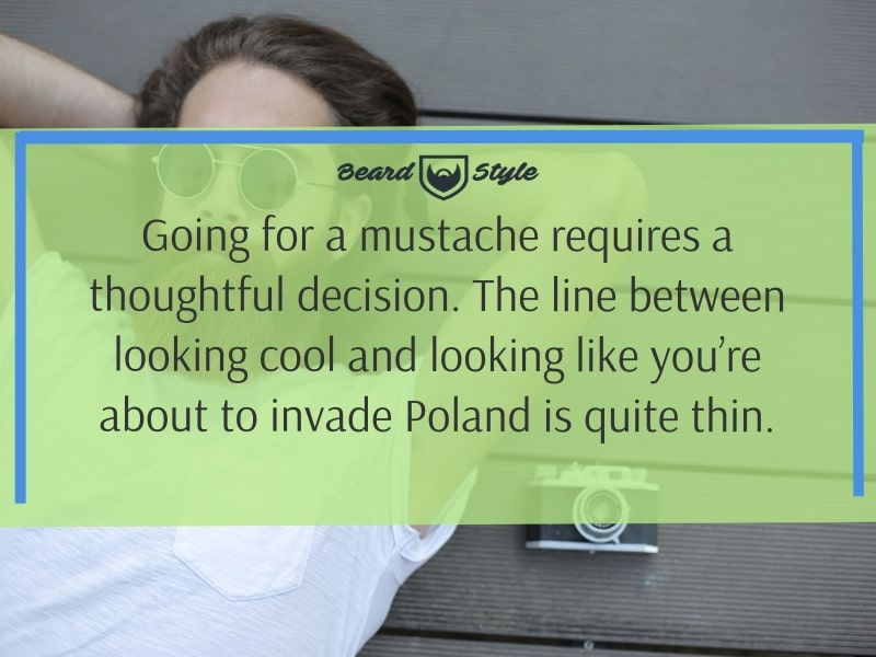 funny mustache quotes