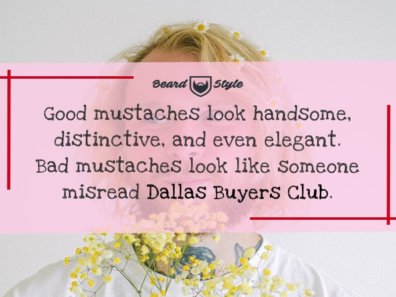 hilarious mustache jokes and quotes