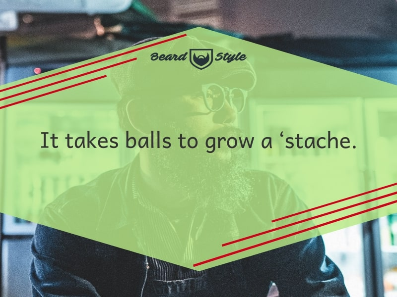 mustache jokes and quotes
