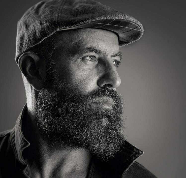 unkempt 6 months beard