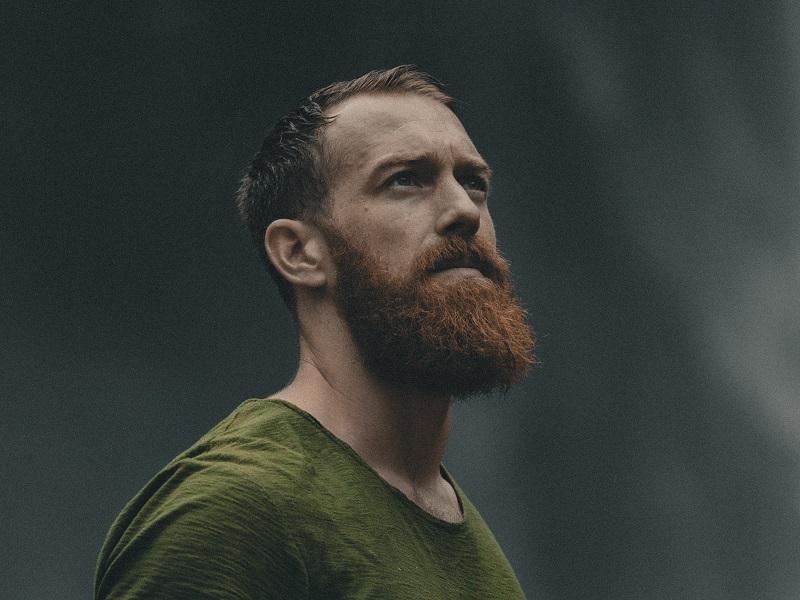 slightly trimmed beard
