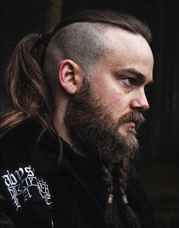Braided Beard With Beads