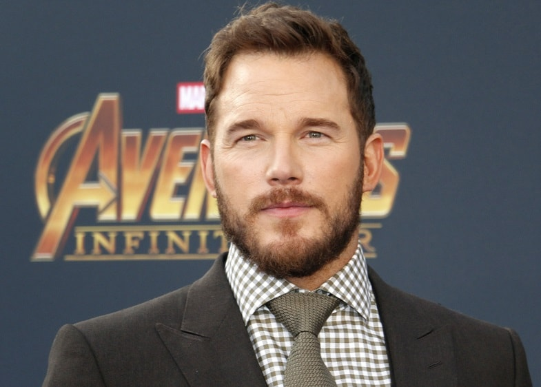 Chris Pratt Beardstyle