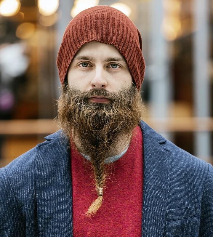 Fishtail Braided Beard