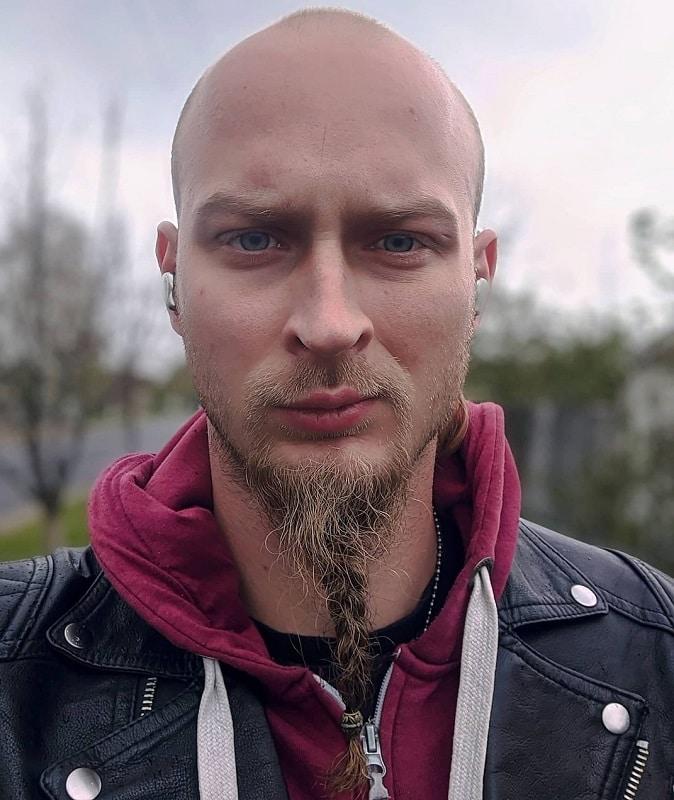 French Braided Beard