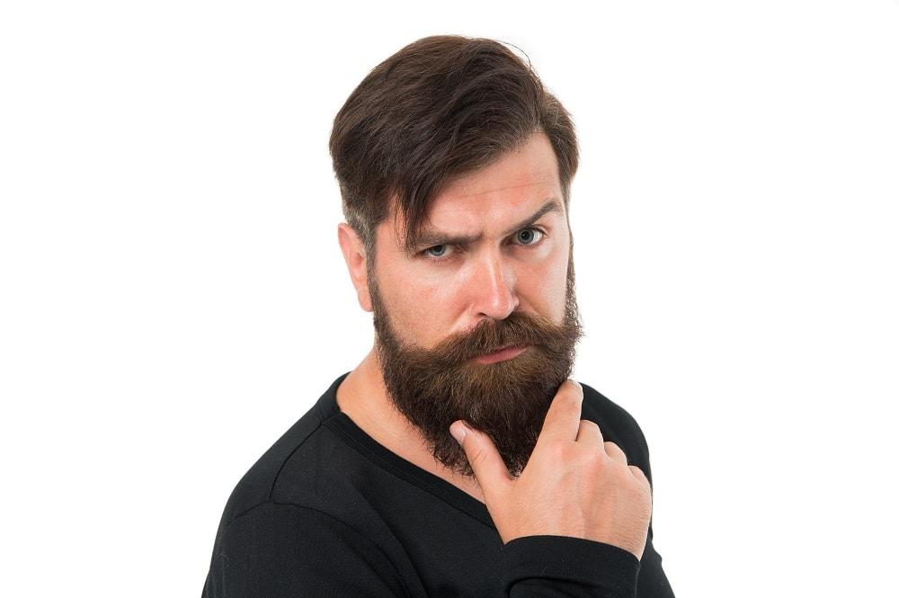 Growing Long Beard Causes Dry Skin