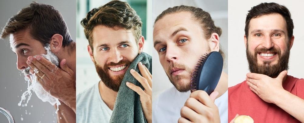 How to Keep Beard Clean