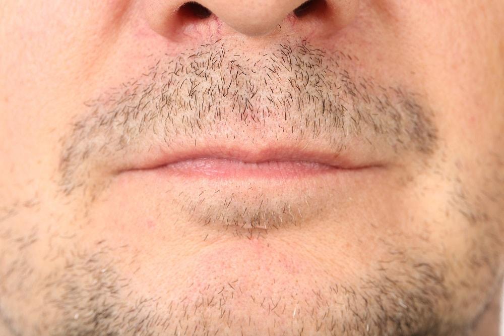 Mustache Stubble