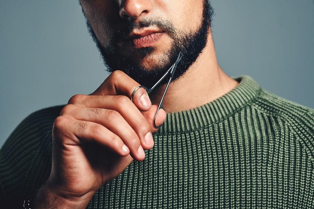 Trim to Finalize Beard Shape