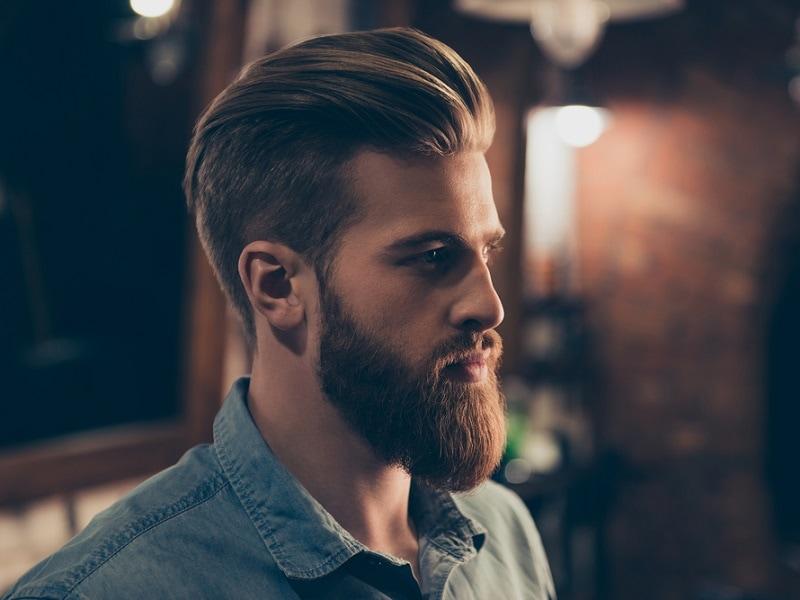 beard cheek line