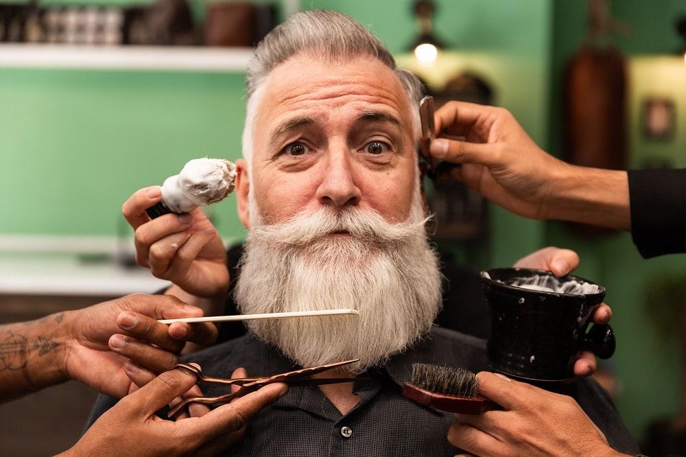 grooming beard for braids