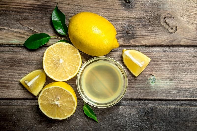 lemon juice for lightening beard dye