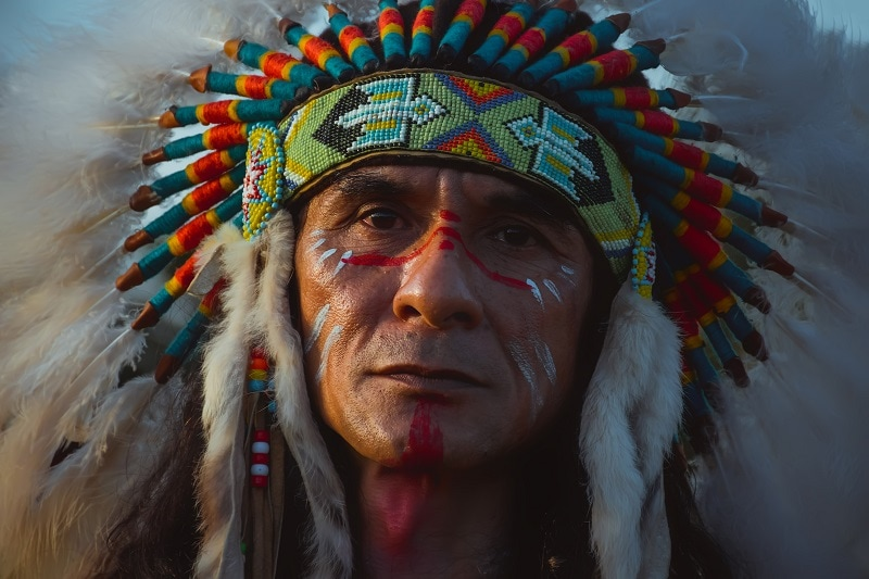 Native American Guy Without Beard