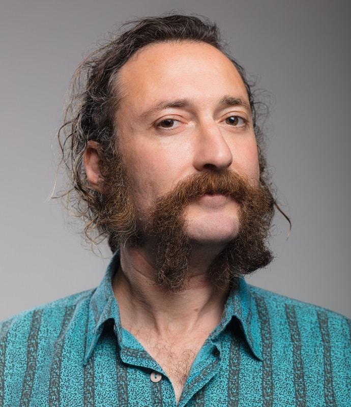 thick fu manchu mustache