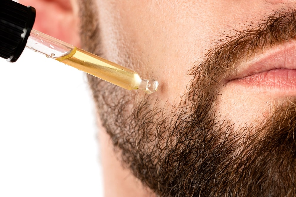 use beard oil to grow thicker mustache