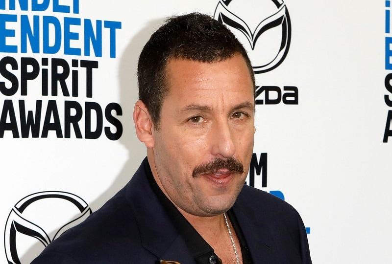Adam Sandler with Mustache