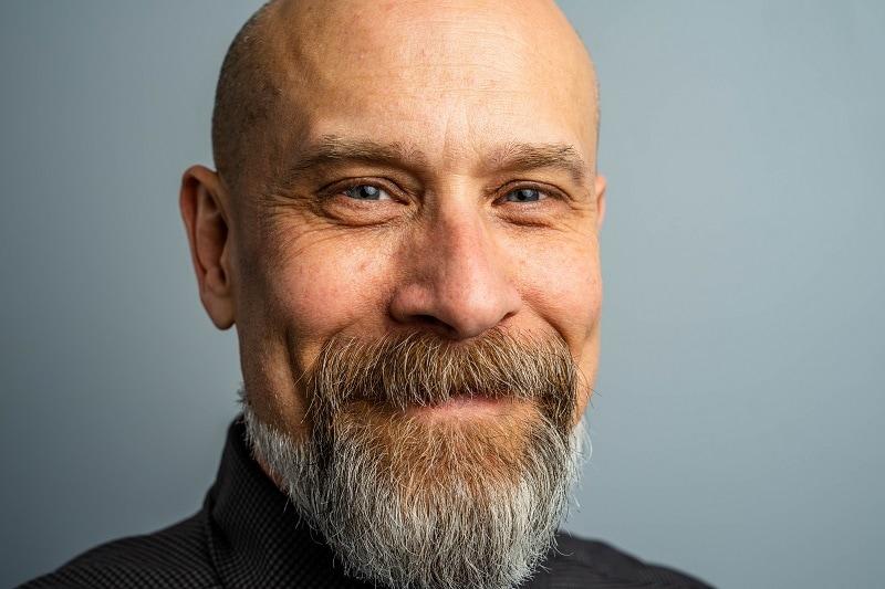 French Beard with Extended Neckbeard