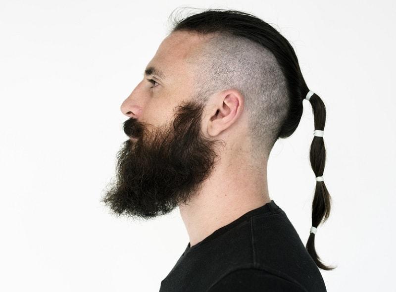 Ponytail and Long Beard