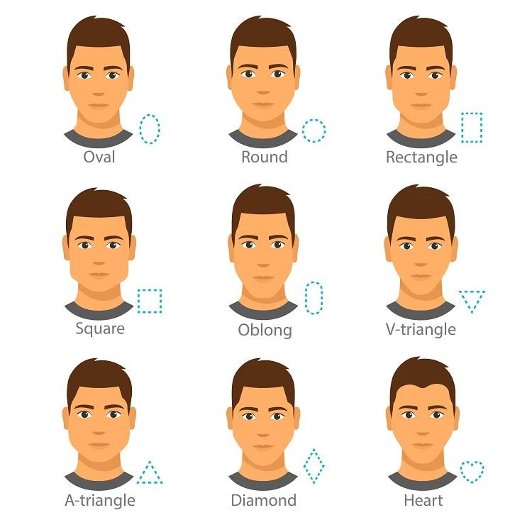best face shapes for a beardstache