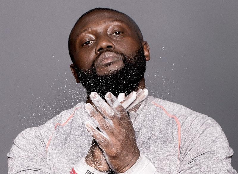 black men beard for round face
